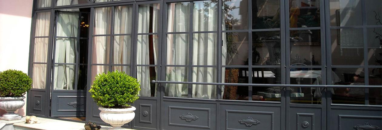 Serramenti cascina for Giardini e verande