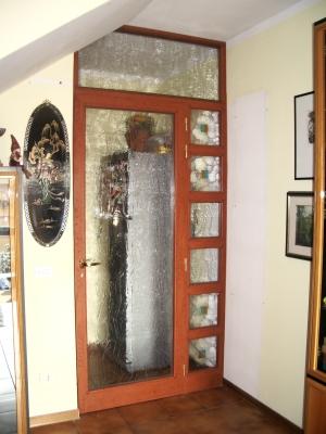 Porte interne con sopraluce raccordi tubi innocenti - Pellicola oscurante vetri casa leroy merlin ...